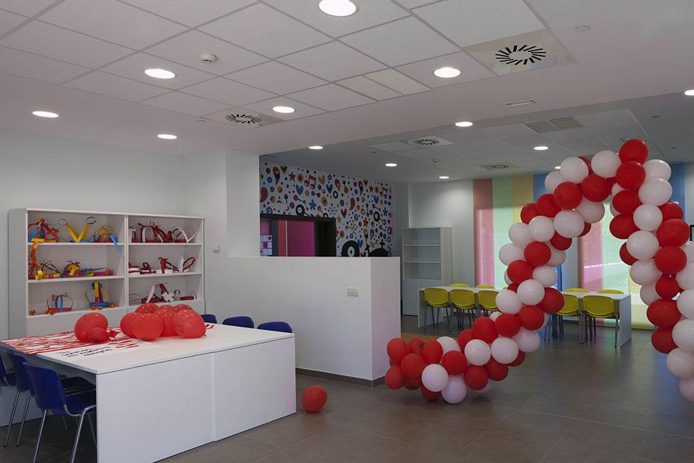 Fundaci n elecnor infraestructura social proyecto casa for Casa mcdonald